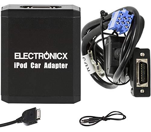 Electronicx Elec-M05-RD3 iPhone, iPod, iPad, AUX Interface Adaptateur autoradio Peugeot RD3 Radio und Citroen RD3 Radio