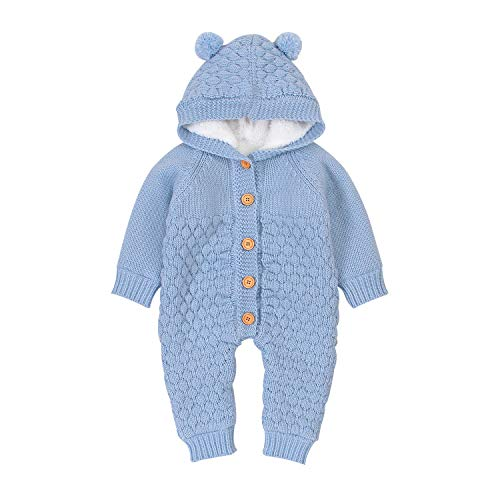 Ziyunlong - Mameluco para bebé recién nacido, mameluco para bebés y niñas - - 6-12 meses