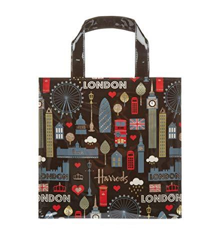 harrods 15099355 - Small Glitter London Shopper Bag
