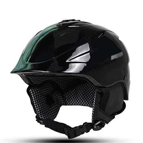 ZCPDP Skihelm, verstelbare kop, warm en stootvast licht, geschikt voor volwassenen, geschikt voor scooter, dubbele plank, rollerskates