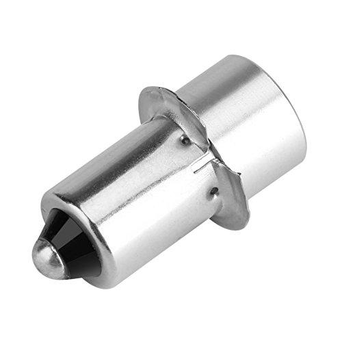 Asixx Bombilla LED de Alta Intensidad, Bombilla de Repuesto,para Linterna, Lámpara de Antorcha O Luz de Trabajo de Emergencia,para Portalámparas P13.5S(Blanco 3V) ⭐