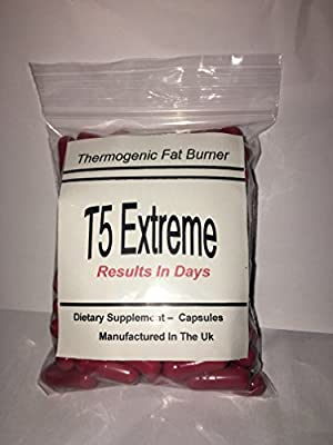 T5 ADVANCED FAT BURNERS - MADE IN THE UK - *****BUY 2 GET 1 FREE***** for Weight Loss, Appetite Suppressant - raspberry fruit extract