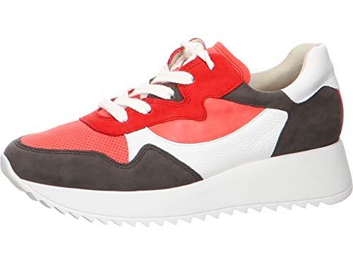 Paul Green Damen Fashion-Sneaker Rosa Leder/Textil-Mix 38