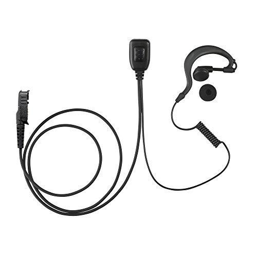 Maxtop AEH1003-AX G-Sharp Earhanger Earphone for Motorola XiR P6628 XIR E8600 E8608 XPR 3300 XPR 3500 Iowa