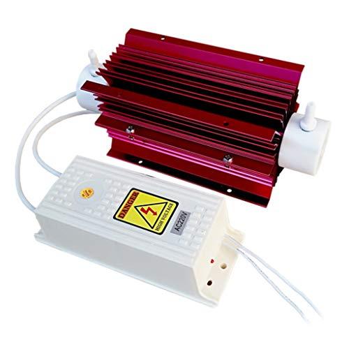 HEYLULU 10g / h 10 Ggrams Tipo de Tubo de Cuarzo Generador de ozono Purificador de Agua Limpiador de Aire 220V