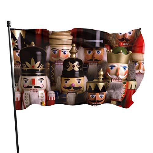 N/A Nussknacker Troop Farbe und UV-beständige Leinwand und doppelt genähte Nationalflaggen mit Messingösen, 90 x 1704 cm