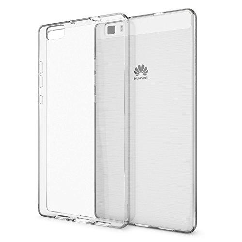 NALIA Funda Carcasa Compatible con Huawei P8 Lite, Protectora Movil Silicona Ultra-Fina...