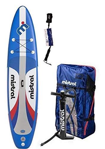 Mistral Adventure 11'5' Edition DSFL Technology, tavola da appoggio gonfiabile, SUP con SUPwave.de Coil-Leash Stand up Paddle Board iSUP
