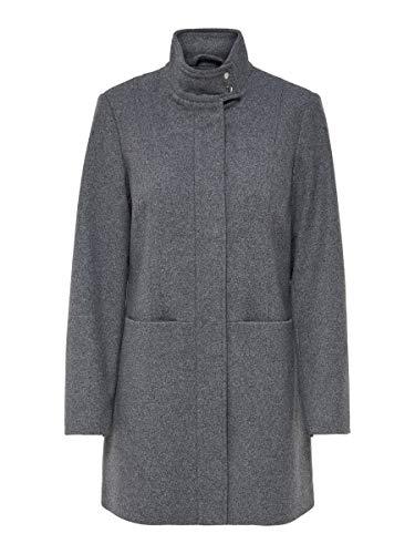 ONLY Female Mantel Woll SMedium Grey Melange