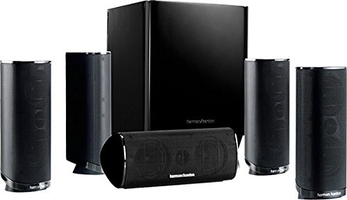 Harman Kardon - HKTS 16 - Enceintes - Home-cinéma 5.1 - Son Surround - Noir