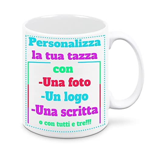 Tazza in Ceramica Personalizzabile con Foto e Scritta