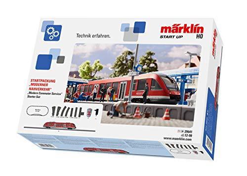 Märklin 29641 Modelleisenbahn Startset Start up Moderner Nahverkehr, Spur H0