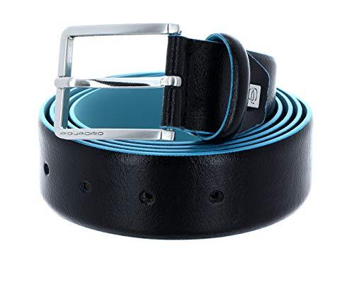 Piquadro Cintura uomo con fibbia ad ardiglione Blue Square
