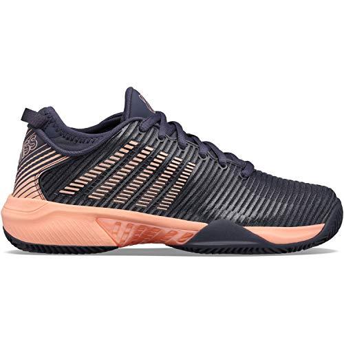 K-Swiss Hypercourt SUPREEHB, Zapatos de Tenis Mujer, Negro/Rosa, 40 EU