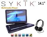Sykik SYDVD196, 9.8'' Inch All multi region zone free HD portable DVD...
