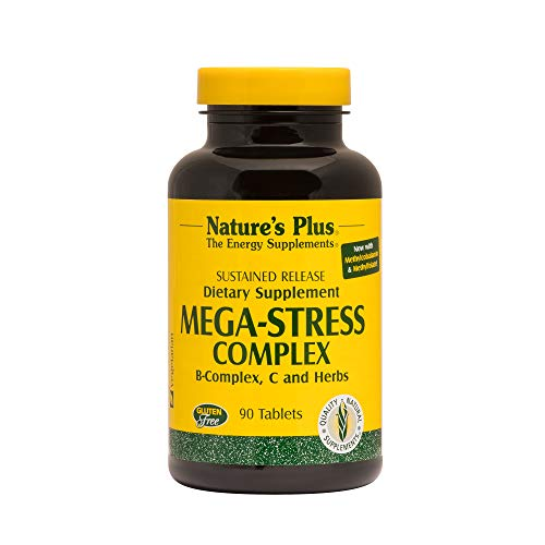 Mega Stress Complex Time Release Nature's Plus 90 Sustained Release Tablet by...