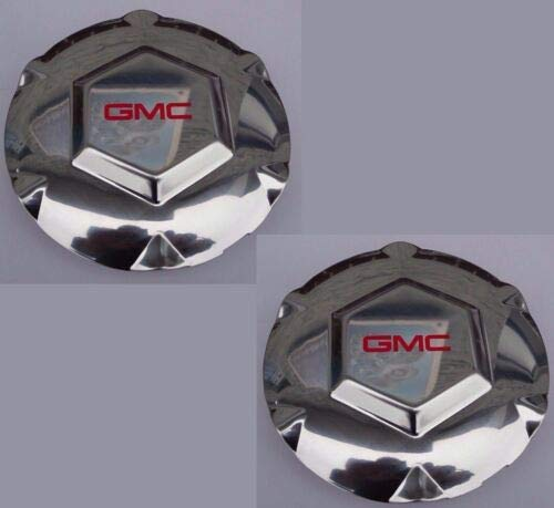 2x GMC Envoy XL XUV 17' Aluminum Wheel Center Hub Caps 2002-2007 9593396 9595152
