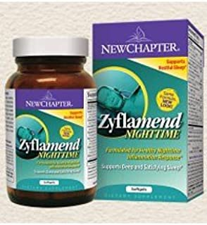 New Chapter Zyflamend Nighttime Supplement, 60 Ct (3 pack)