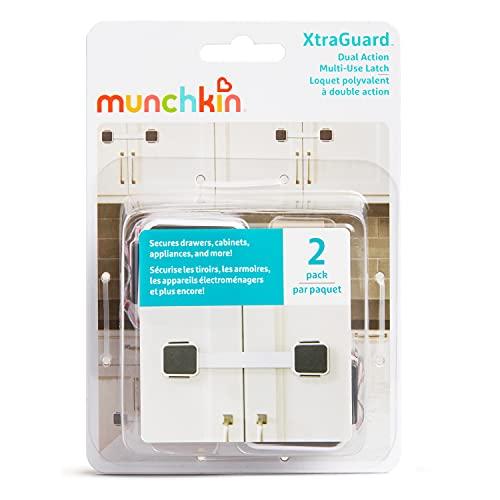 『Munchkin Xtraguard Dual Action Multi Use Latches, 2-Count【並行輸入品】』の4枚目の画像