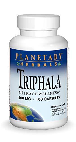 Triphala Internal Cleanser 500 mg Planetary Herbals 180 Caps
