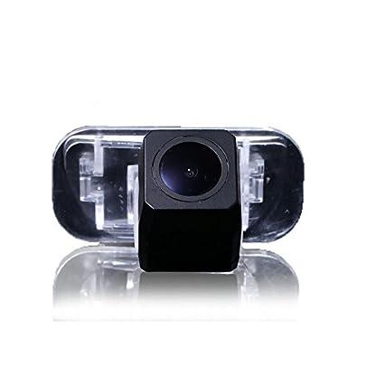 Dynavsal-Auto-HD-CCD-Rueckfahrkamera-170-Weitwinkel-mit-Radar-Sensor-Einparkhilfe-Universal-fuer-PALNTSC-Schwarz-fuer-B200-A-Class-W169-B-Klasse-T245-CAR