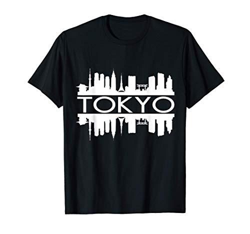TOKYO JAPON SKYLINE DE BÂTIMENT, TOUR, TEMPLE, PORTE TORII T-Shirt