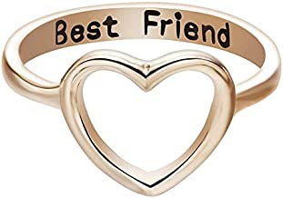 T-Jewelry (Gold) New Women Rings Stainless Steel Ring Wedding Rings Engagement for Lady's Lianzhi (5)