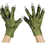 Star Power Monster Hands with Thick Fingers Gloves Green One Size