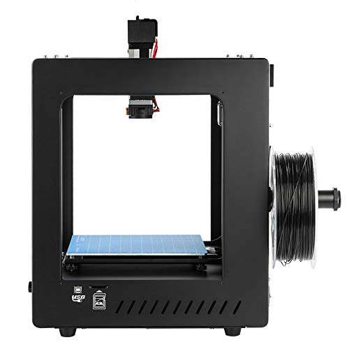 Art 3D Printer, Imprimante FDM 3D, Impression de Point d'arrêt, Extrudeuse Double, Impression de Haute précision, Support PLA, ABS, TPU, Format d'impression 200 * 200 * 200mm,Black