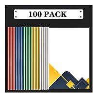 ビジネスクリップボード バーレポートをスライディングファイルフォルダのクリアはA4サイズ用紙のために主催バインダーをカバーし、5色の70シート容量オフィス学校は、プレゼンテーションファイルのフォルダ用品 事務用品 (Color : F)
