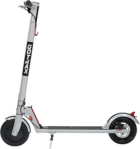 GOTRAX GXL V2 Folding Electric Scooter with 1 Gear (0-15.5mph), 8.5inch Wheels, 36V 5.2Ah Lithium Battery Up to 12miles per Charge, 250W Motor up to 15.5mph for Adult 2020 New Upgrade