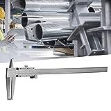 TLF-FF Alta precisión profesional dentro de la ranura del calibrador, doble garra de acero al carbono Interior Pie de rey, adecuado for medir el diámetro interior del agujero interior (9-300mm)