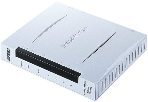 BUFFALO有線ルータBBR-4MGBroadStationエントリーモデル