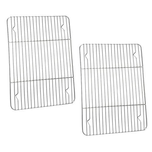 P&P CHEF Cooking Rack Set of 2, Stainless Steel Cooking...