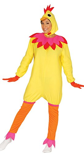 FIESTAS GUIRCA Disfraz de gallina Mujer Hombre