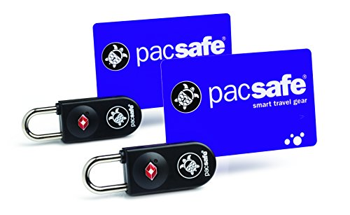 Pacsafe Prosafe 750 2pk TSA Key-Card Lock (2 Pac) Candado para Equipaje, 7...