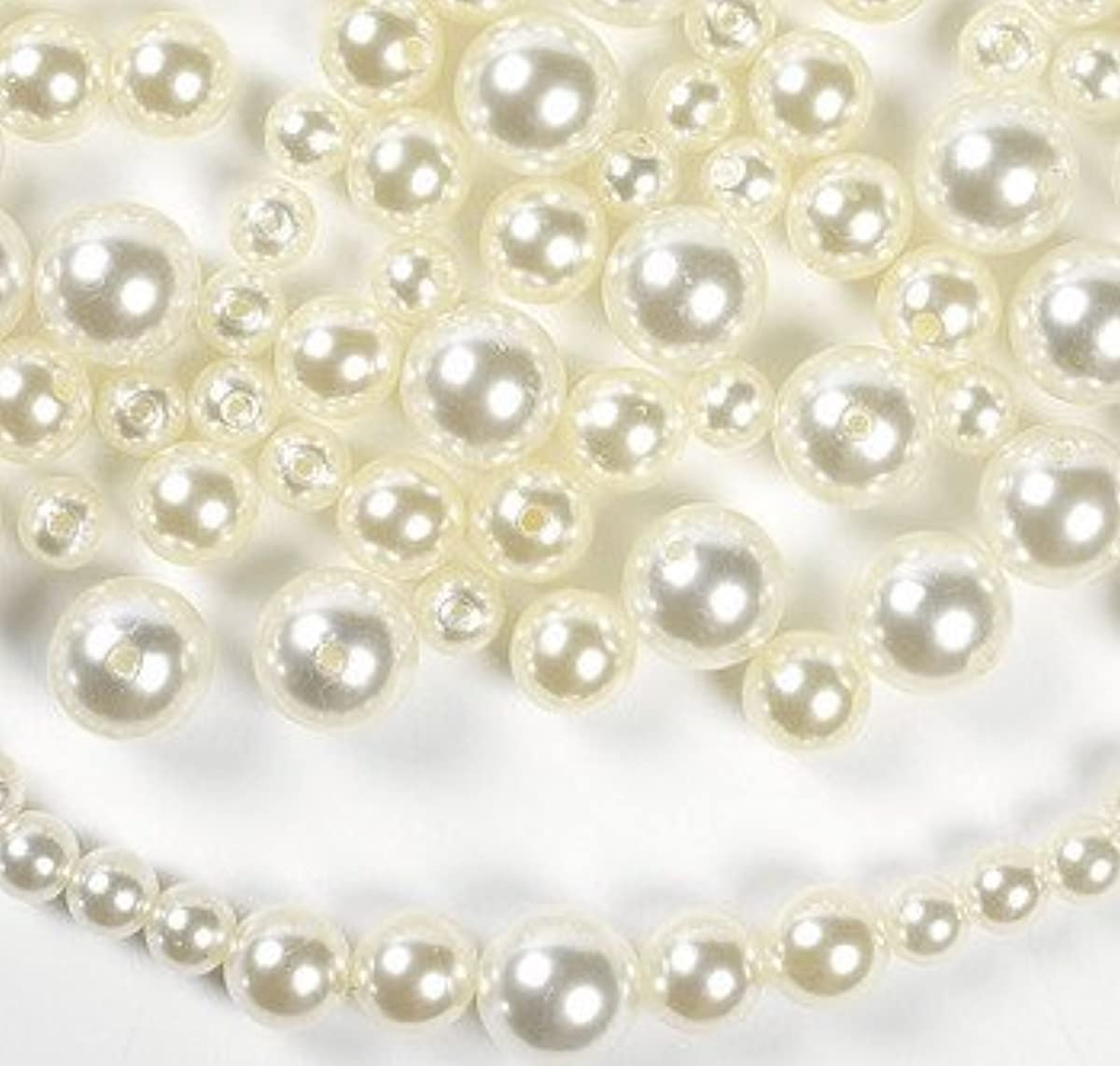 Bulk Plastic Faux Pearl Craft Beads