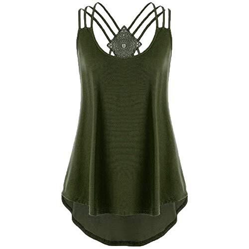 KIMODO Damen Bekleidung T Shirt Bluse Tank Top Damen Camisole Sommer Lose Weste Schwarz Rosa Mode
