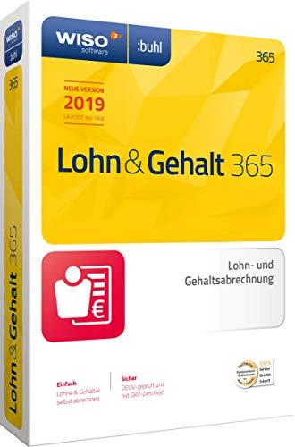 WISO Lohn & Gehalt 365 (aktuelle Version 2019) Die ideale Software für die Lohnbuchhaltung in Unternehmen