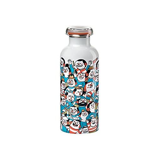 Guzzini - On the Go Street Bottle Thermosflasche, 500 cc, mehrfarbig