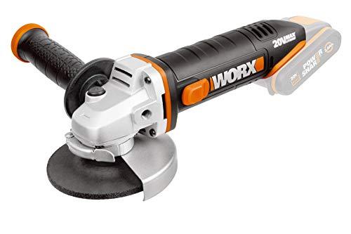 WORX WX800.9 Winkelschleifer, kabellos, 18 V (20 V max), 115 mm