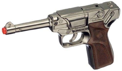 Gonher - 124/0 - Pistolet - Police - 8-Coup - Argent