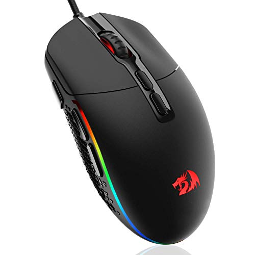 Redragon Invader M719 Wired USB Gaming Mouse (Black)