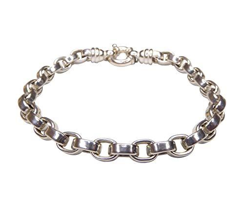 Christian zilveren armband met schakels