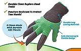 Immagine 1 guanti da giardinaggio artigli verde