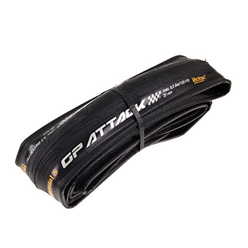 Continental Grand Prix Force & Attack Pneu Souple Noir 700 x 22C (22-622)
