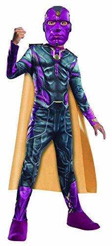 Intexit610451-s visin Avengers 2Classic disfraz, Talla S
