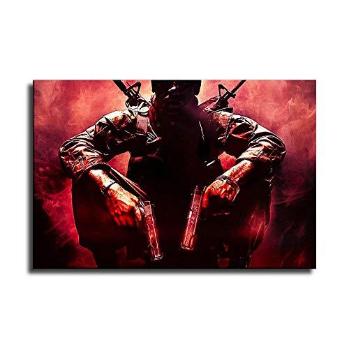 Póster de Call of Duty Black ops en lienzo y arte para pared, diseño moderno de la familia
