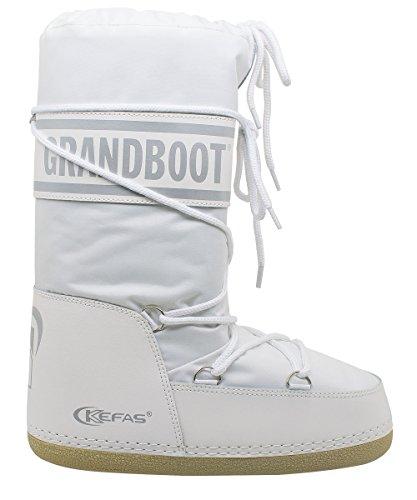Grandboot  Doposci Boot Uomo Donna Bambino Bianco Taglia 35/37