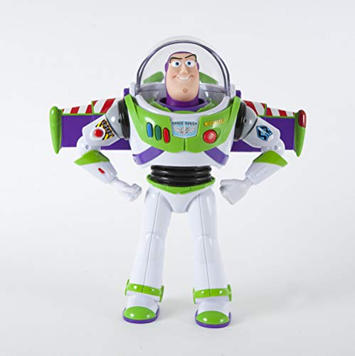 Toy Story 4 Disney Pixar Buzz Lightyear Deluxe Space Ranger Action Figure., Multi (64451)